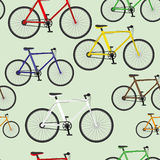 Colorful bikes. Stock Photography