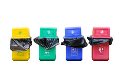 Colorful bin Royalty Free Stock Photo