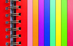 Colorful binder Royalty Free Stock Image