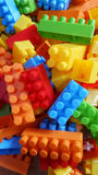 Colorful Binding Bricks Stock Image