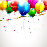 Colorful birthday background Royalty Free Stock Photography