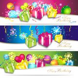 Colorful birthday background Royalty Free Stock Image