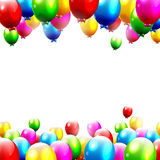 Colorful birthday background Stock Photography