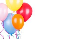 Colorful Birthday Balloons Royalty Free Stock Photo