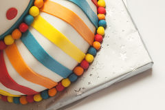 Colorful Birthday Cake Stock Photos
