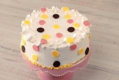 Colorful birthday cake Stock Photo