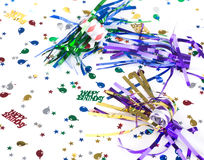 Colorful Birthday Decor Royalty Free Stock Photo
