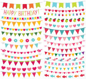 Colorful birthday and party decoration Stock Photo