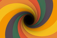Colorful black hole background Royalty Free Stock Photos