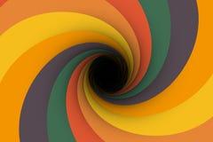 Colorful black hole background Royalty Free Stock Photos