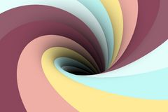 Colorful black hole background Stock Photography