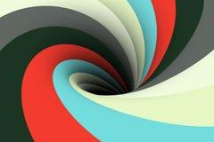Colorful black hole background Stock Photo