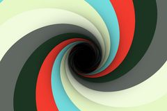 Colorful black hole background Stock Photos