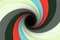 Colorful black hole background Stock Photos