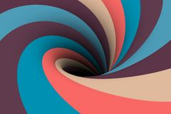 Colorful black hole background Royalty Free Stock Image