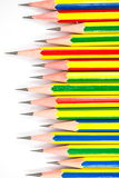 Colorful of black pencils Stock Photo