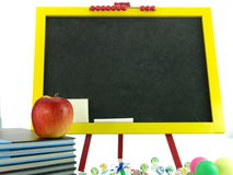 Colorful blackboard Stock Photography