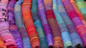 Colorful blanket Stock Photography