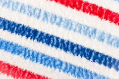 Colorful blanket. Colorful striped blanket as a textured background Stock Photo