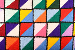 Colorful blanket Stock Image