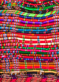 Colorful blankets Royalty Free Stock Image