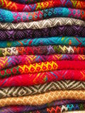 Colorful blankets Stock Photo