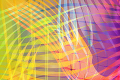 Colorful Blended Abstract Waves Background Illustration Stock Image