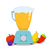 Colorful blender Royalty Free Stock Images