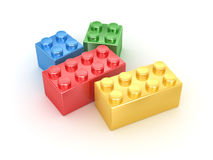 Colorful block Stock Photo
