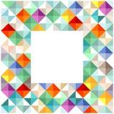 Colorful block elements vector illustration