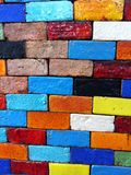 Colorful block patterns. Colorful block pattern texture Stock Images
