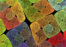 Colorful blocks stock images