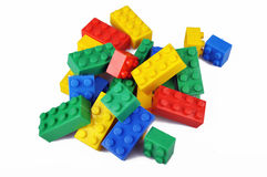 Colorful blocks Stock Image