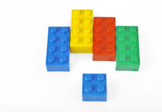 Colorful blocks Royalty Free Stock Photos
