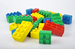 Colorful blocks Royalty Free Stock Photo