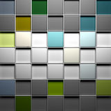 Colorful blocks structure background Stock Images