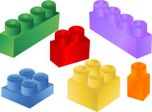Colorful blocks,vector Royalty Free Stock Images