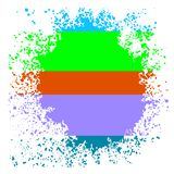 Colorful Blot Stock Photo