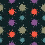 Colorful Blots Background. Background colorful blots seamless texture Stock Image