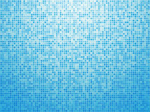 Colorful blue checkered background Stock Photos