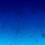 Colorful blue paint splashes background Royalty Free Stock Photos