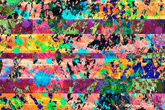 Colorful blue,pink,yellow,green and black abstract background. Colorful blue,pink,yellow,green and black abstract fun,party theme design wallpaper background stock illustration