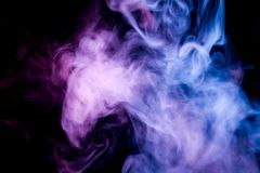 Background from the smoke of vape royalty free stock image