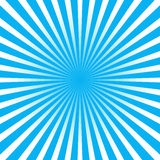 Colorful blue ray sunburst style abstract background Stock Photos
