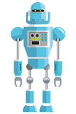 colorful blue robot icon Royalty Free Stock Images
