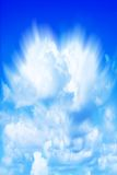 Colorful blue sky Royalty Free Stock Image