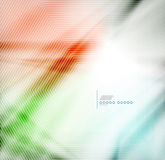 Colorful blur abstract geometric background Stock Photography
