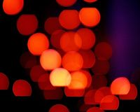 Colorful blur background - colored lights Royalty Free Stock Photo
