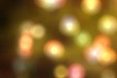 Colorful blur bokeh background Stock Images
