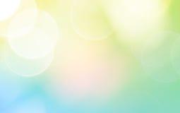 Colorful blur bokeh background Stock Photo